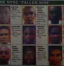 NYSC FALLEN HEROS