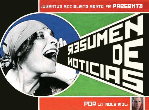 EXTRA! Resumen de noticias de la Juventud Socialista!