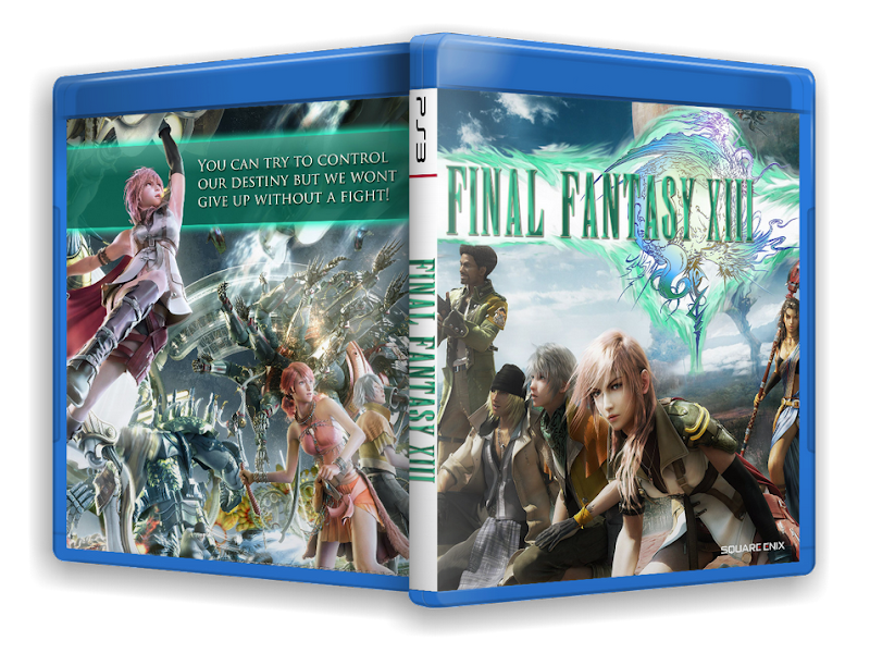 Capa Final Fantasy XIII PS3