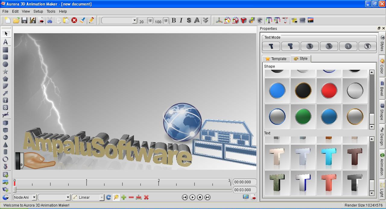 Aurora 3d Animation Maker Incl Keygen