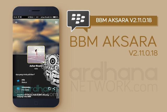BBM Aksara V2.11.0.18 - BBM Android V2.11.0.18