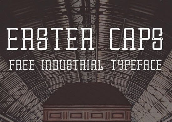 Erster Caps Free Font