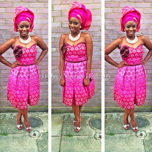 Lovely Ankara And Lace Design Debonke House Of Fashion