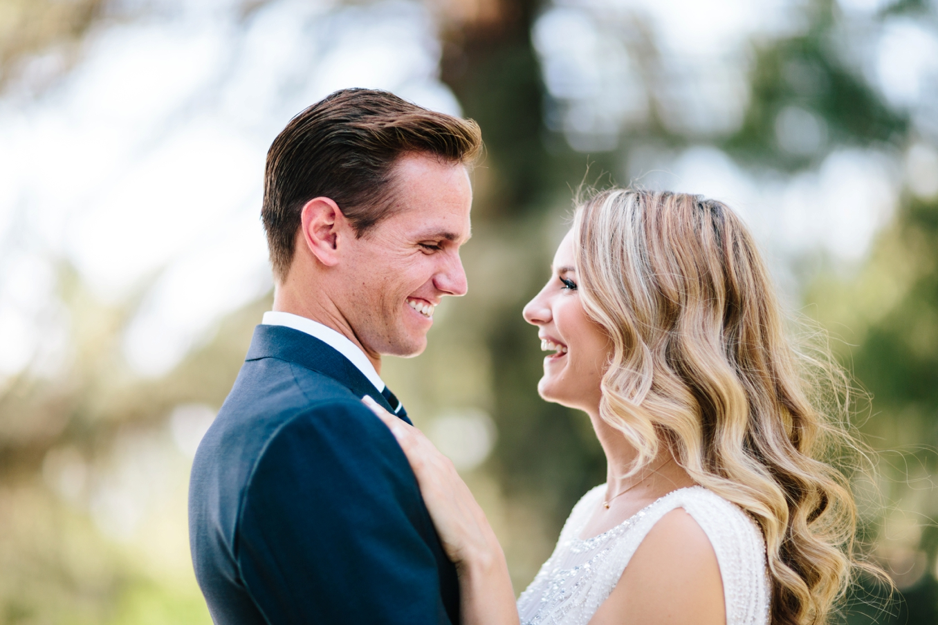 Brittany and Willem's gorgeous Southern California outdoor wedding by Sitting In A Tree Events. Photo by STUDIO 1208