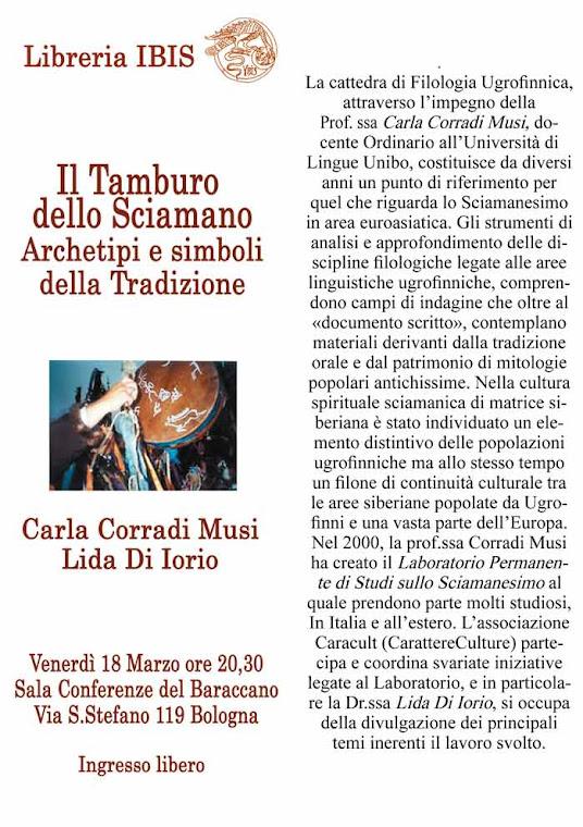 18 marzo 2011 20,30 con Ibis Esoterica presso Sala Conferenze Baraccano