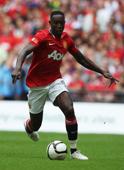 Danny Welbeck Manchester United 2011/2012