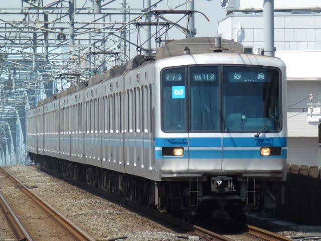 東京メトロ東西線 妙典行き2 05系幕式(平日9本運行)