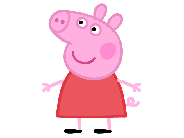 Cartoon Characters Peppa Pig Personajes
