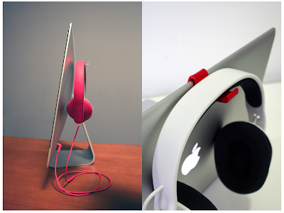 headphone hooks for iMac and MacBook Pro