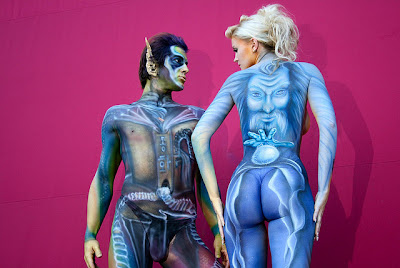 Body Painting - A Look at the Top 6 Festivals in the World