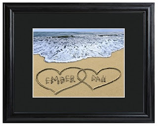Personalized Love Framed Print