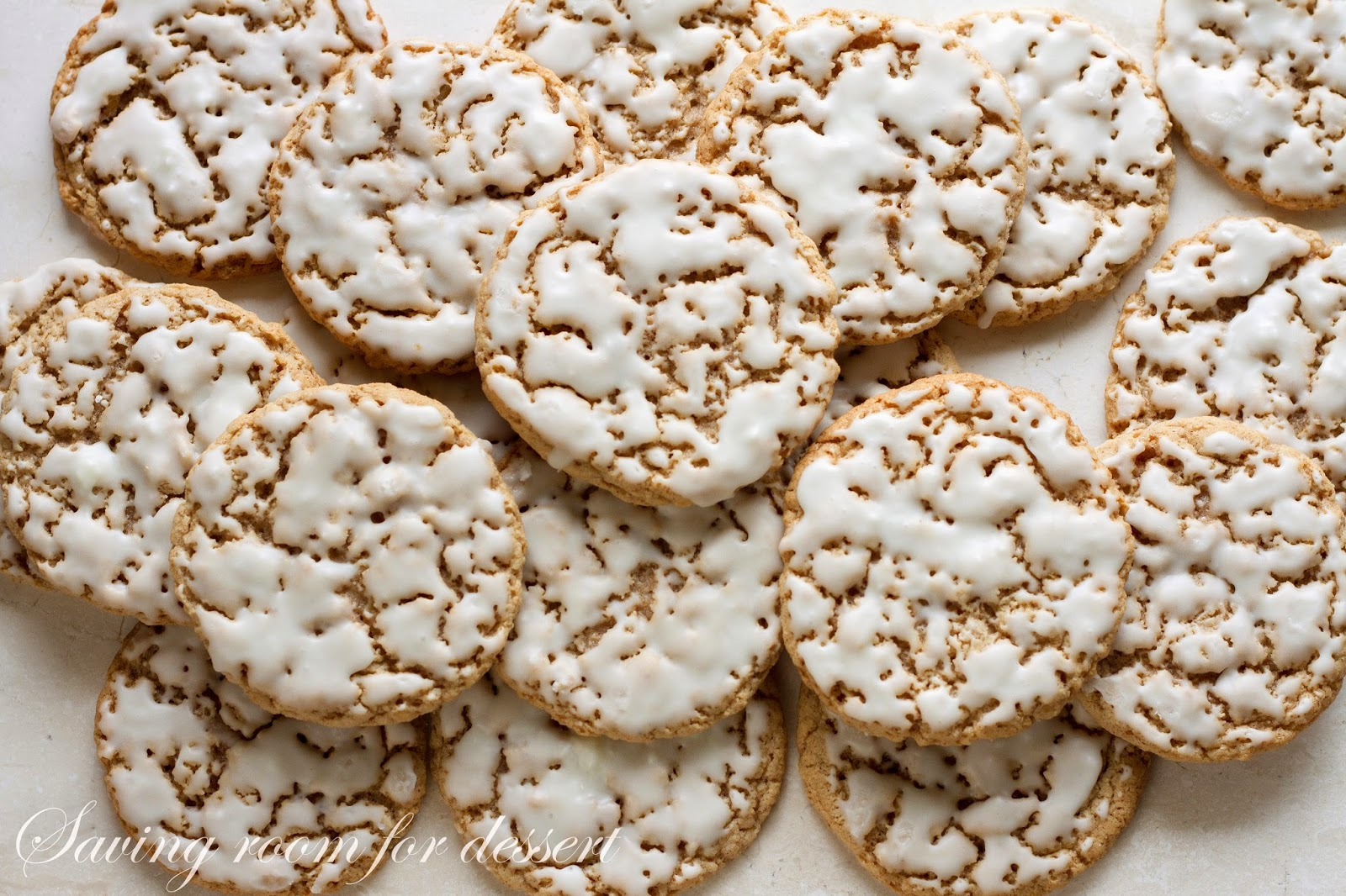 Iced Oatmeal Cookies Recipe — Dishmaps