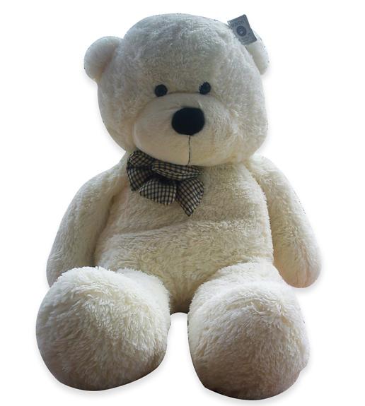 the huge fluffy  huge teddy bears