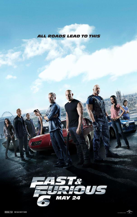 The Fast and the Furious 6 (2013) เร็ว แรงทะลุนรก 6 [HD]