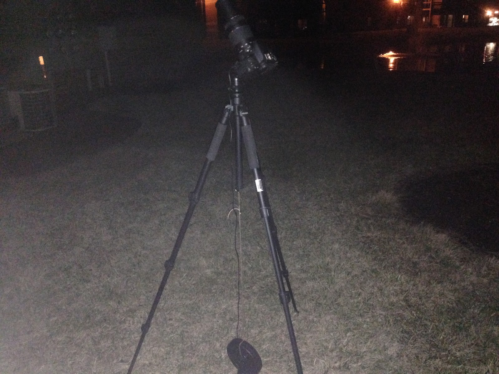 weight on tripod