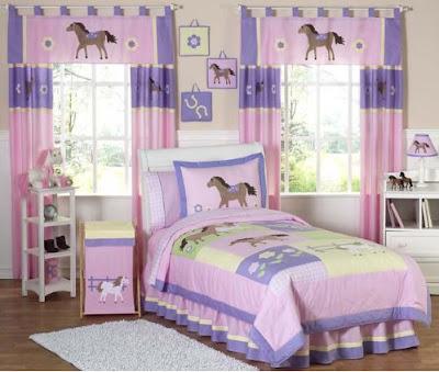 DECORA CON SETS DE CAMA INFANTILES via www.dormitoriosnenes.blogspot