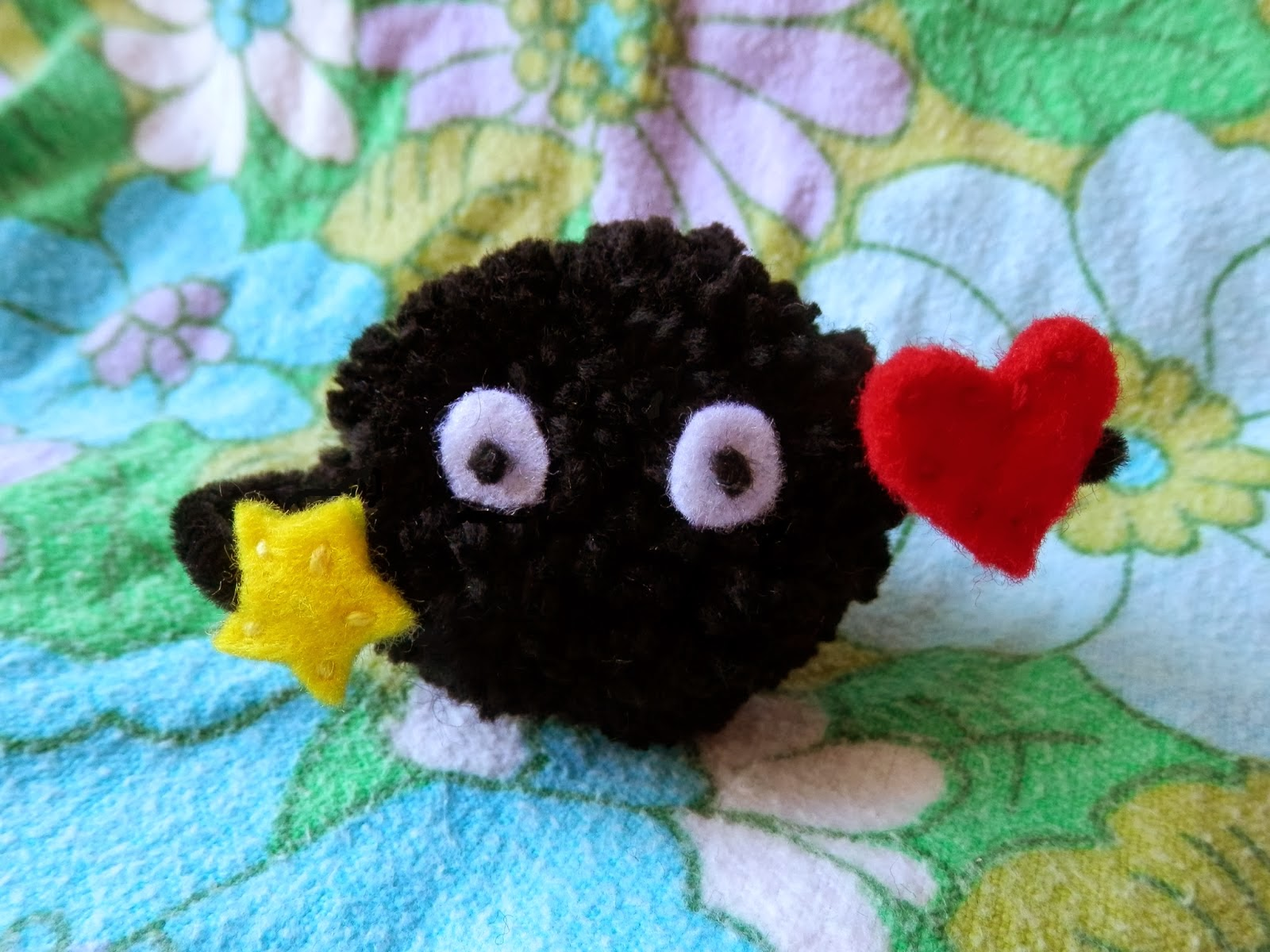 yarn craft tutorial soot sprite pom poms
