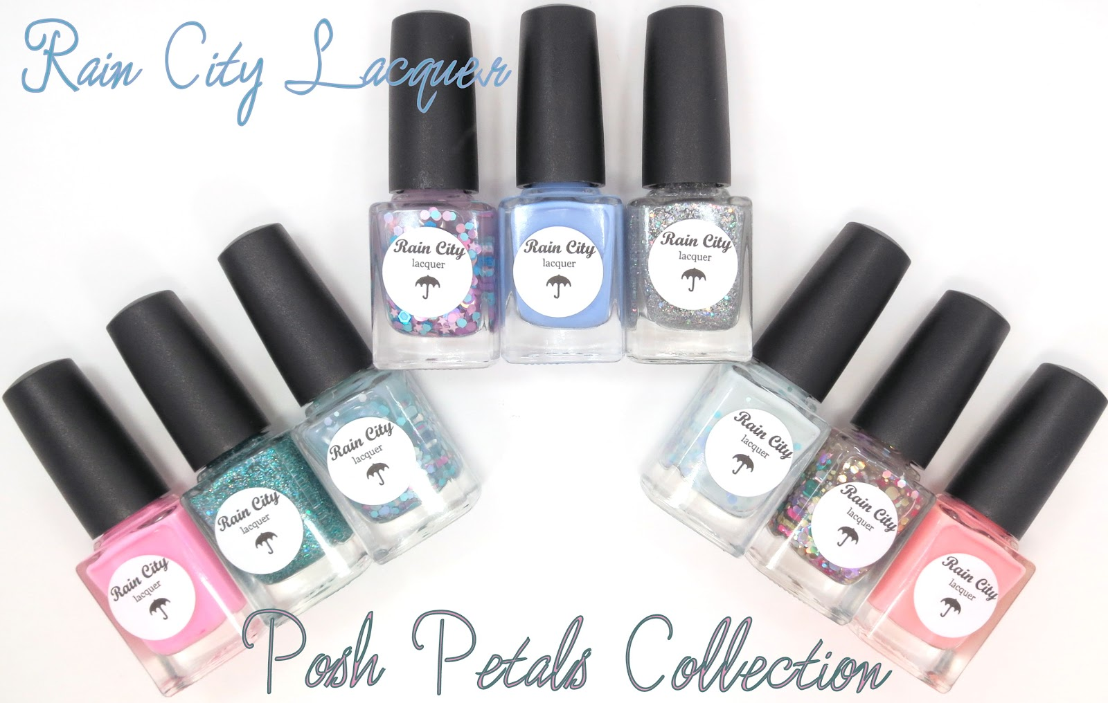Rain City Lacquer Posh Petals Collection
