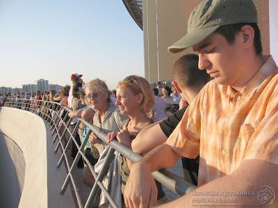 Балкон стадиона Казань-арена