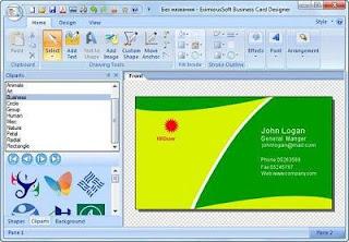 EximiousSoft Business Card Designer 3.80