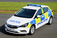 Vauxhall Astra Police Car (2016) Front Side