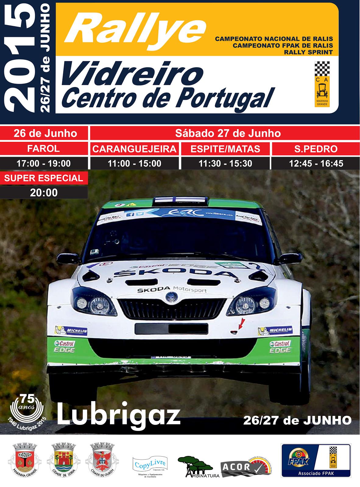 Rallye Vidreiro 2015
