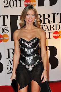 Caprice at the Brits