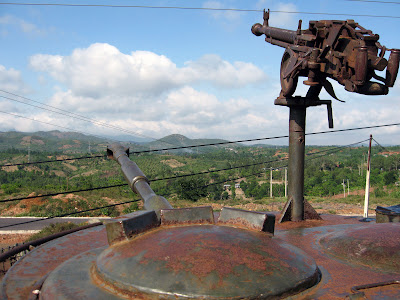 DMZ base militaire au Vietnam