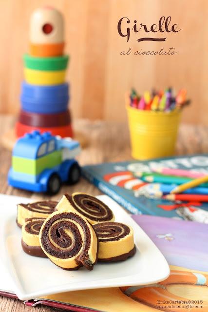 girelle al cioccolato