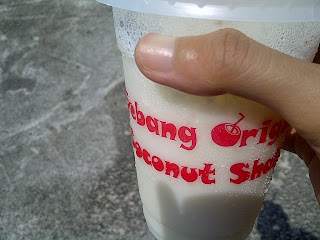 #UltrasJelajahMelaka : Coconut Shake