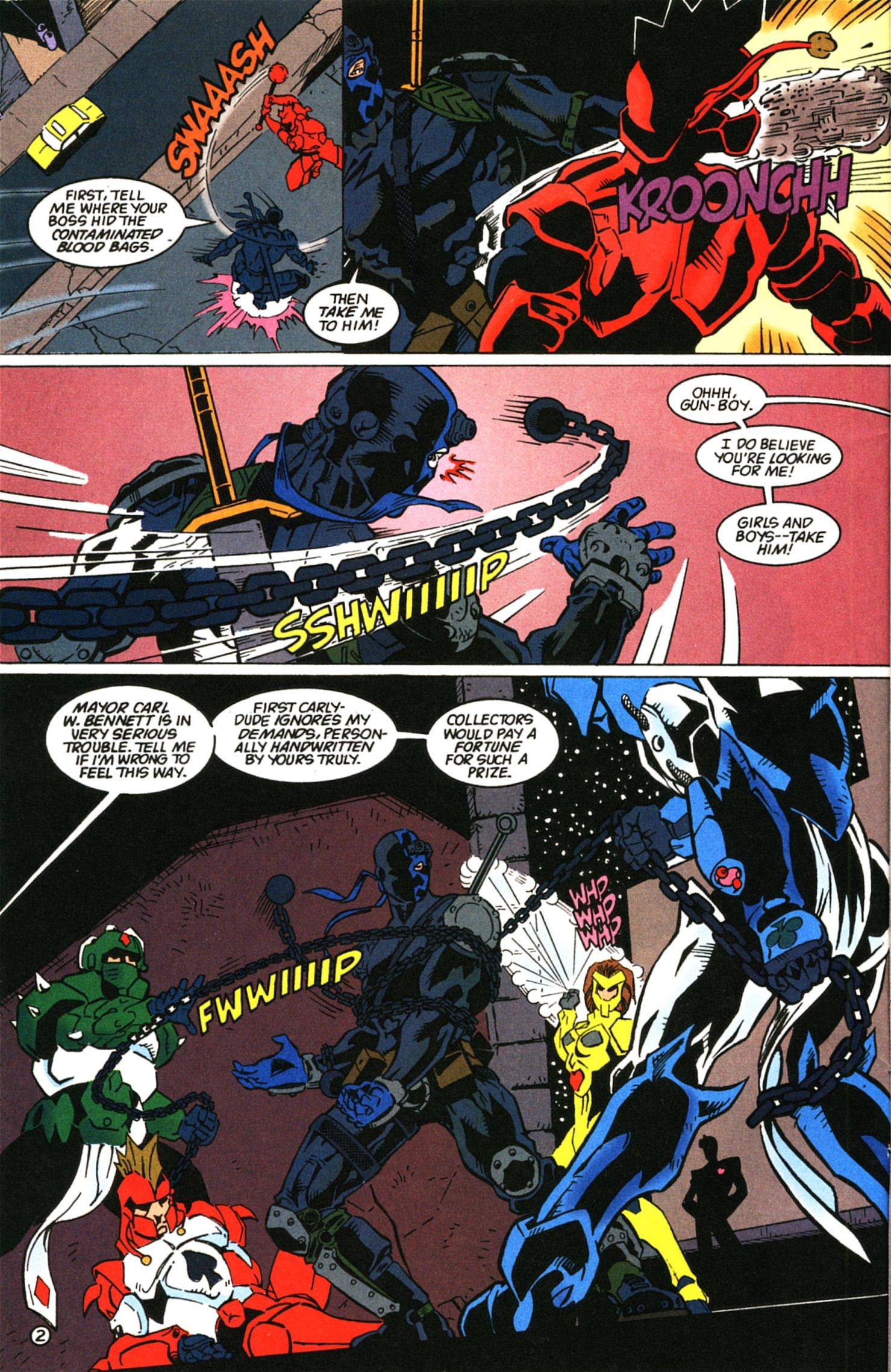 Deathstroke (1991) Issue #58 #63 - English 3