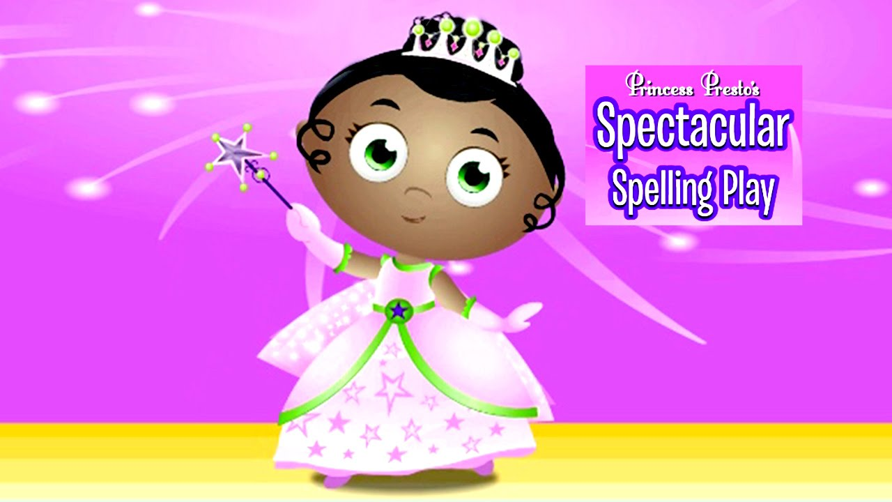 Princess spelling game