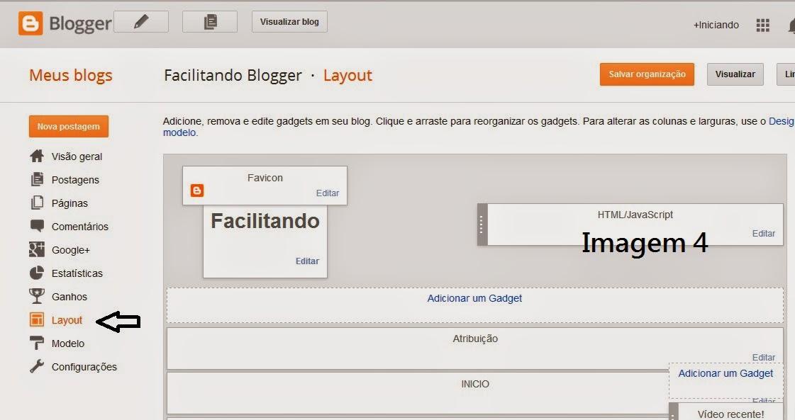 Gadget Facebook para Blogger #8