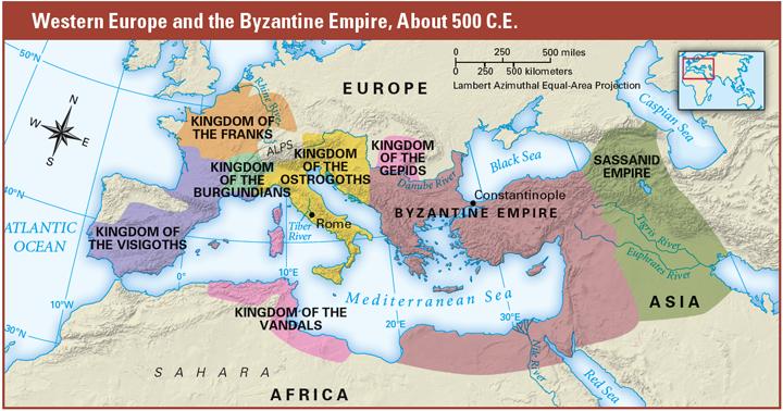 Mapa konce říše