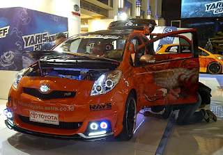 Modifikasi Toyota Yaris