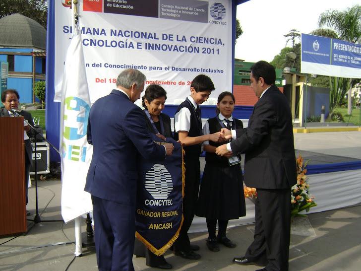 GANADORES REGIONAL FENCYT 2011