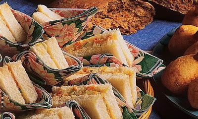 Sanduíche de cenoura com maçã light