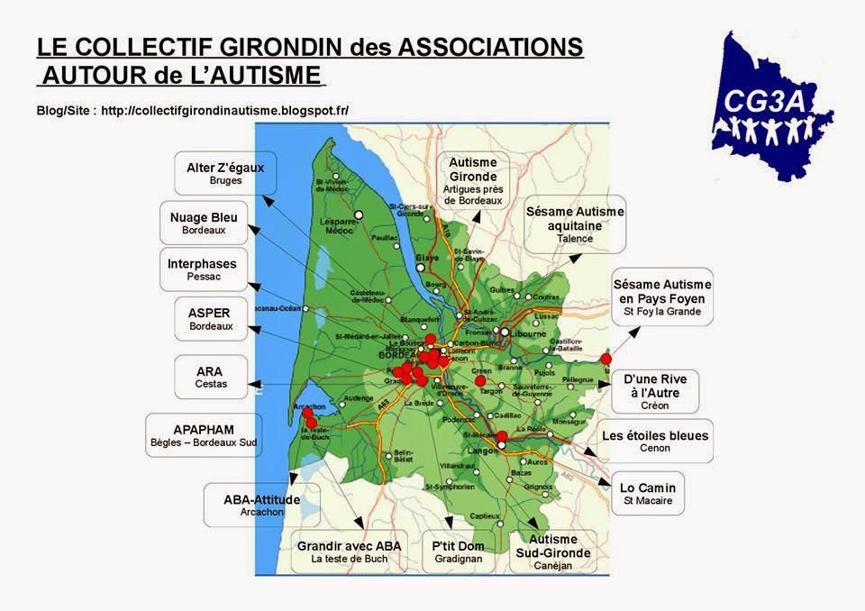 Cartographie du CG3A