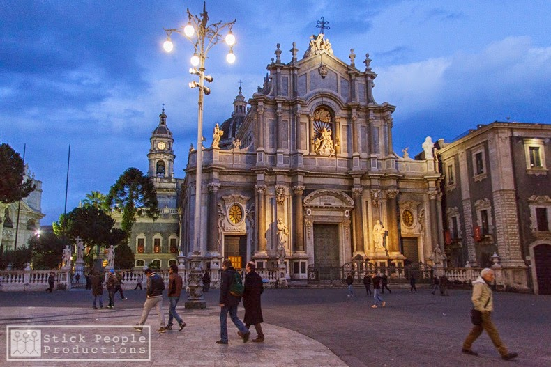 Piazza del Duomo - Catania, Sicily, Italy - (c) Stick People Productions