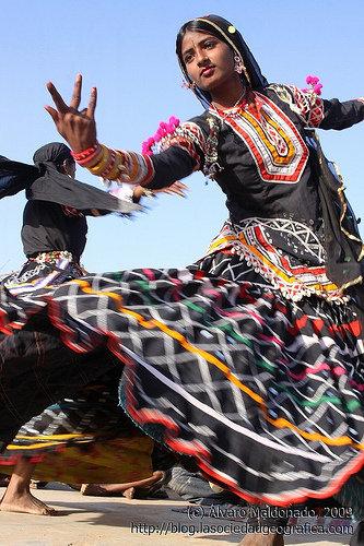 Cigana na India