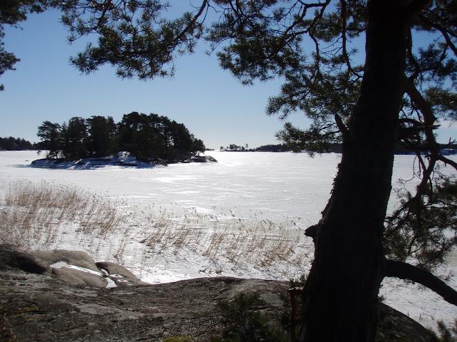 2011-03-11 Isen kvar vid Jogersö...