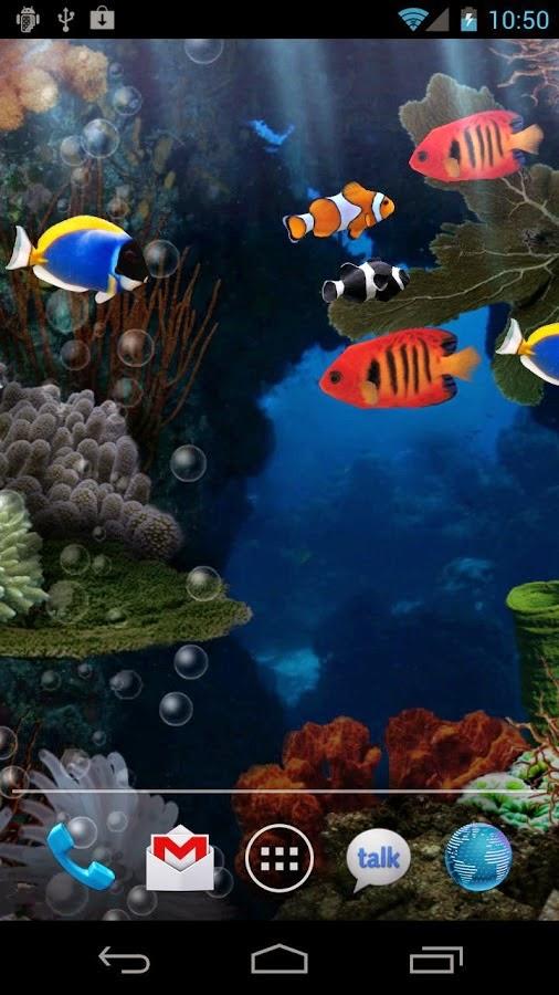 Fondos de pantalla animados de naturaleza para tu for Wallpapers animados para android