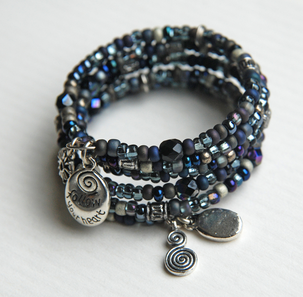 totally twisted bangles memory wire bracelet