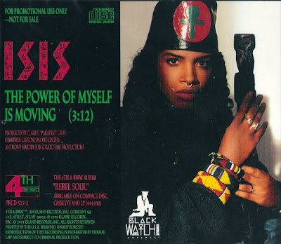 Isis – The Power Of Myself Is Moving – CDS Promo – 1991