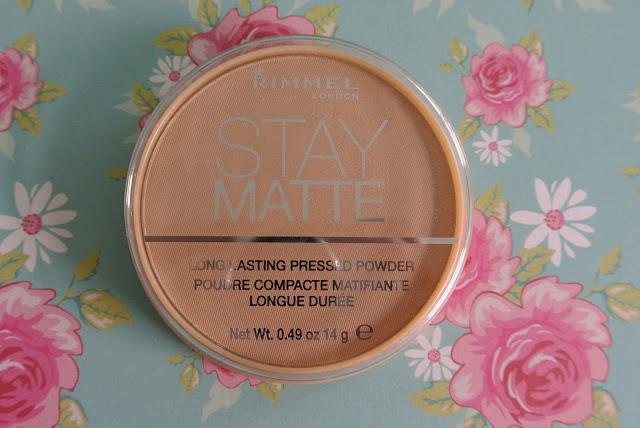 rimmel stay matte pressed powder swatch