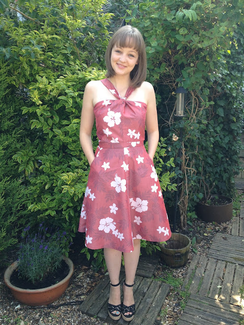 Diary of a Chainstitcher Hawaiian Sewaholic Lonsdale Dress Sewing Pattern