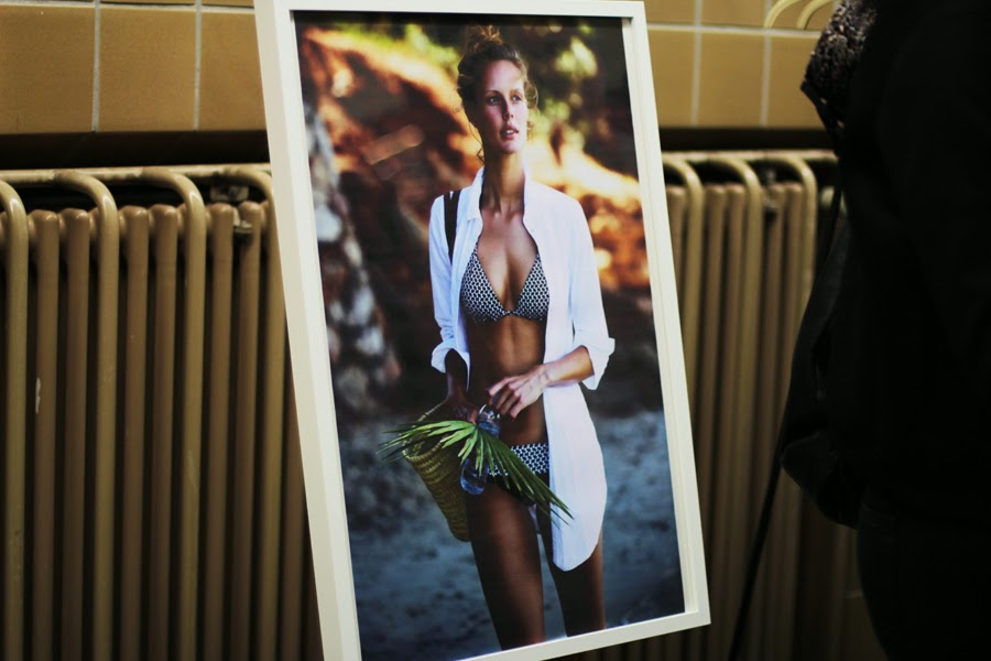 fashion style esprit bikini model