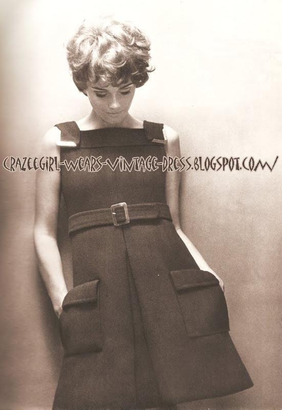 Ted Lapidus dress - 1967  60s 1960