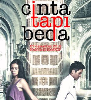 Cinta tapi Beda di Bioskop 2012