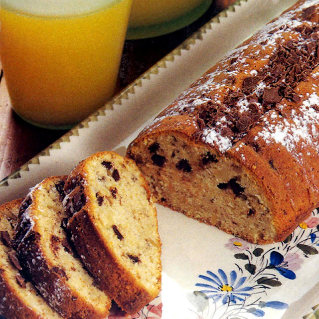 Κέικ με κομμάτια σοκολάτας-logia apla-syntages-συνταγές
